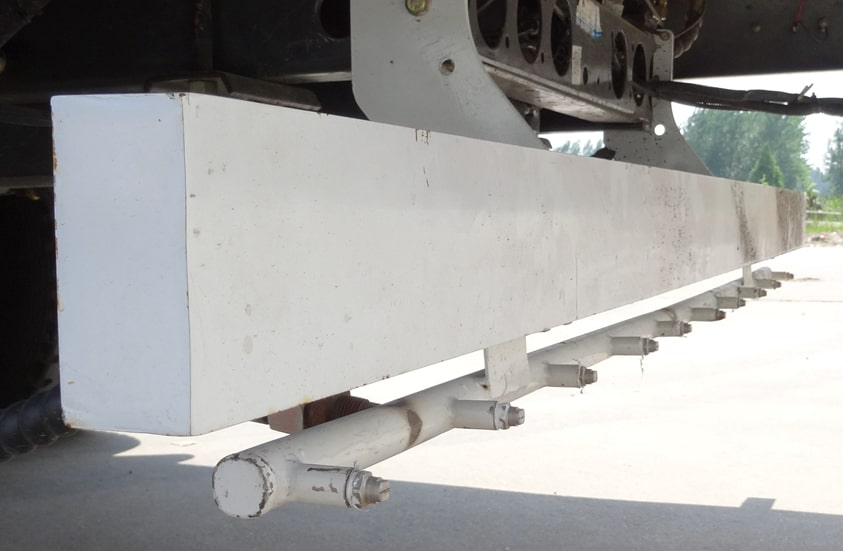 扫路车加装后高压喷雾功能