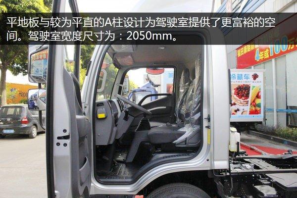 福田奥铃CTS_4.2米冷藏车主驾驶室