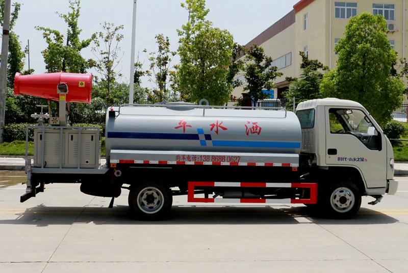 福田4吨雾炮洒水车右侧图片