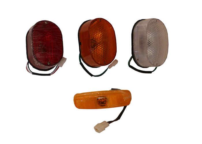 清障车工作灯及边灯