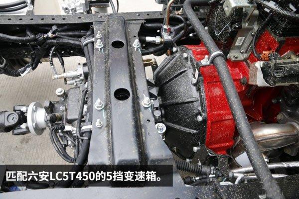 江淮骏铃4.2米冷藏车变速箱