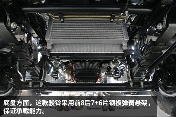 江淮骏铃4.2米冷藏车钢板