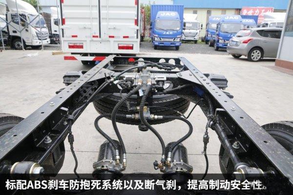 江淮骏铃4.2米冷藏车断气刹