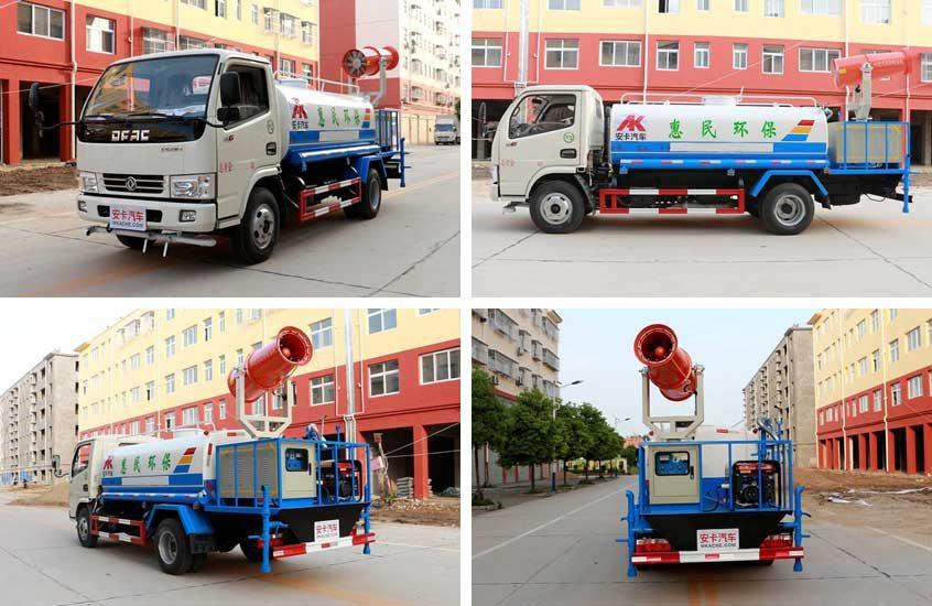东风5吨洒水喷雾车图片