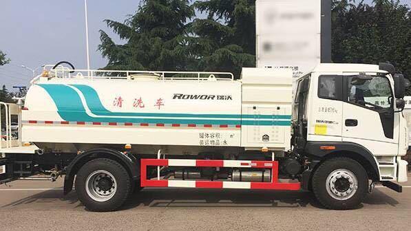 福田瑞沃12吨洒水车图片
