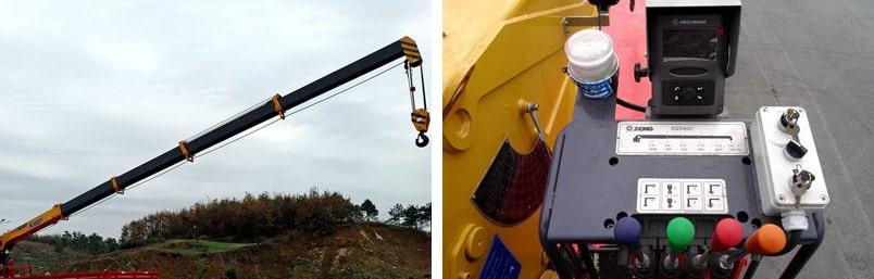 东风天龙前四后八16吨随车吊吊机图片