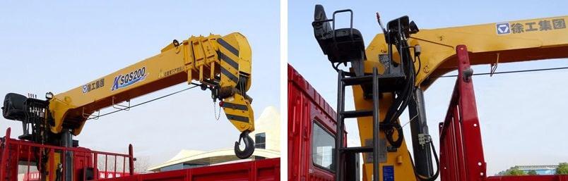 徐工8吨随车吊吊机图片