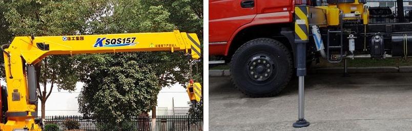 徐工6.3吨随车吊吊机图片