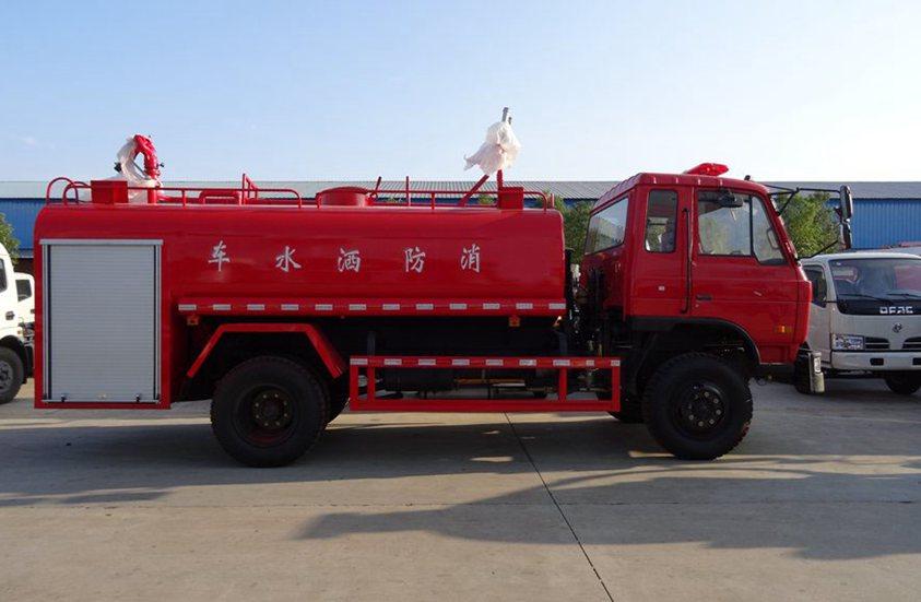 东风10吨消防洒水车整车图片B