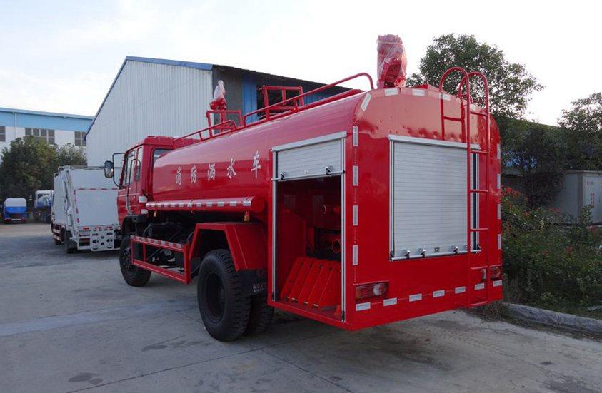 东风10吨消防洒水车整车图片C