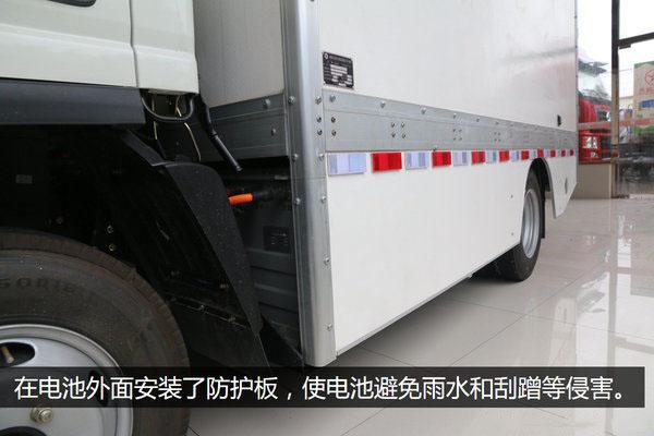 大运4.2米纯电动冷藏车防护板图片