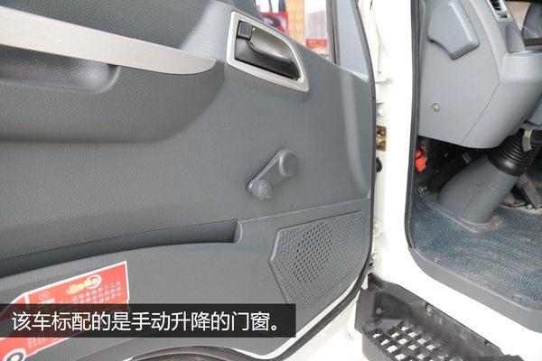 大运4.2米纯电动冷藏车门窗图片