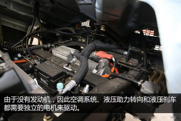 大运4.2米纯电动冷藏车空调制冷系统图片