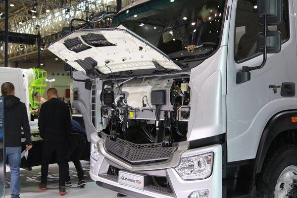 福田欧马可S5冷藏车前面板图片