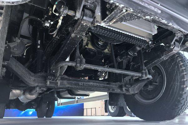 福田欧马可S5冷藏车后桥图片
