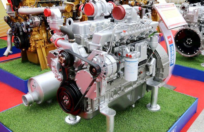 油罐车玉柴发动机图片