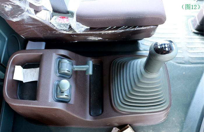 东风天龙半挂油罐车变速杆图片