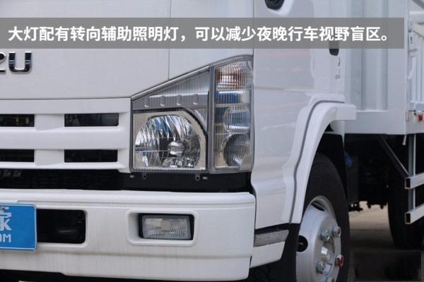 五十铃蓝牌清障车实拍图片(三)