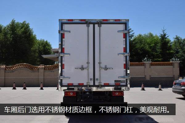 江铃顺达宽体4.2米冷藏车不锈钢门锁