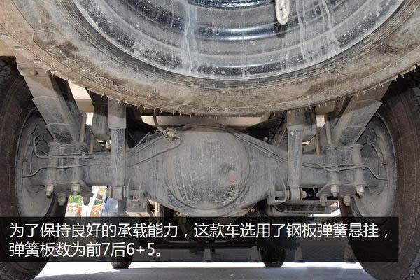 江铃顺达宽体4.2米冷藏车弹簧片