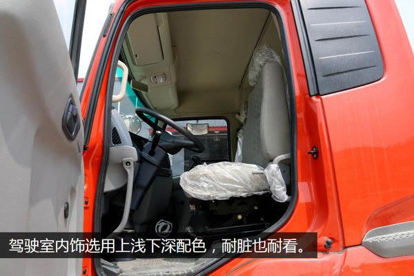 东风天锦小三轴7.7/8.6米冷藏车内饰