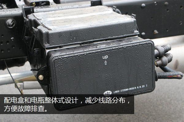 解放虎V全落地平板清障车图片(三十六)