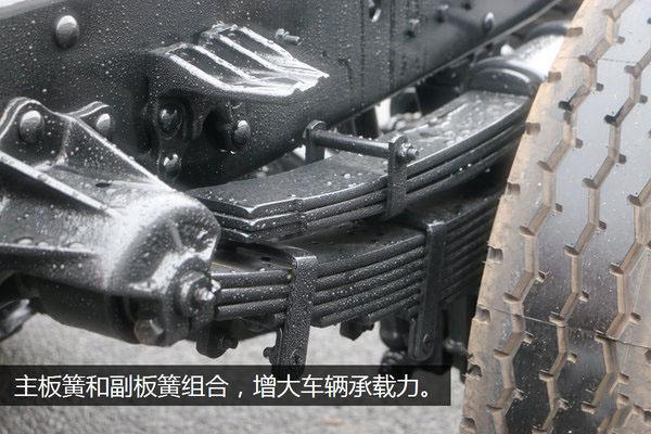 解放虎V全落地平板清障车图片(四十)