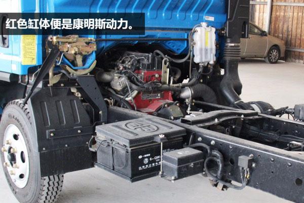 解放虎V5.6米平板清障车图片(二)