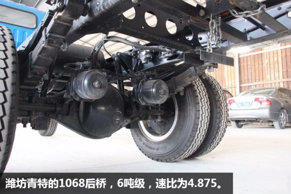 解放虎V5.6米平板清障车图片(六)