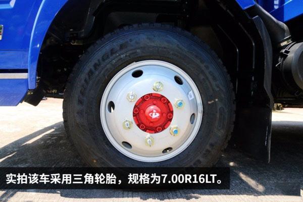 东风凯普特一拖二蓝牌平板清障车图片(十七)