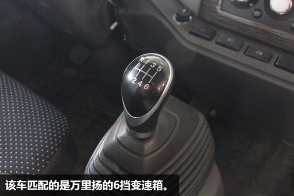 解放虎V一拖二蓝牌平板清障车图片(十二)