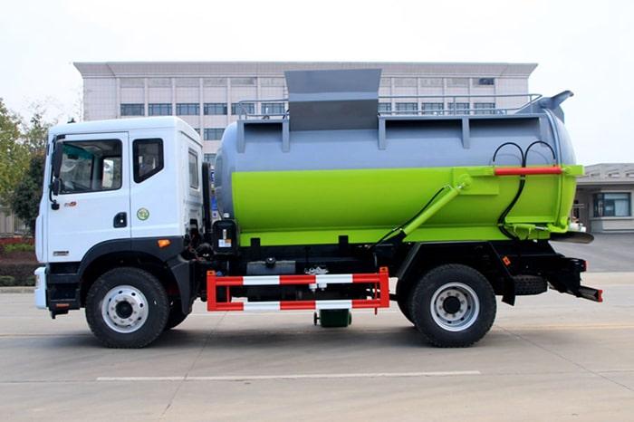 东风D9餐厨式垃圾车左侧图片