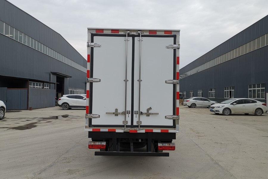 东风途逸3.5米冷藏车正后图片