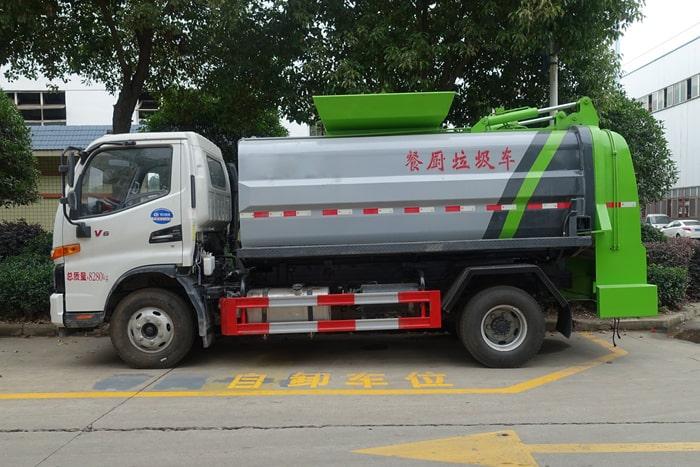 江淮6方餐厨垃圾车左侧图片