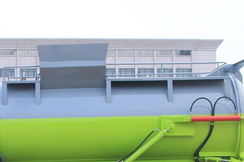 东风D9餐厨垃圾车上操作平台图片