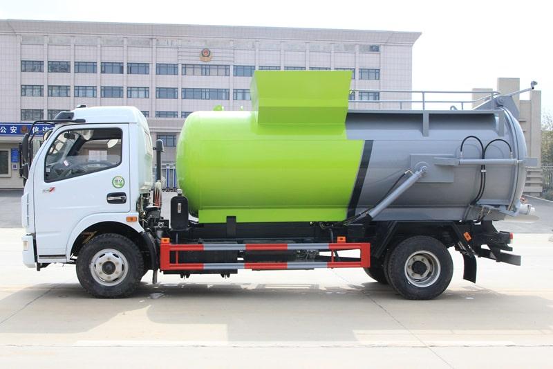 东风D7餐厨式垃圾车左侧图片