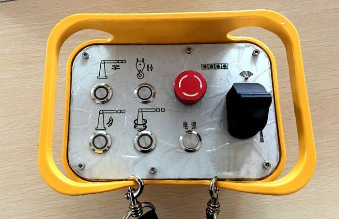 遥控随车吊无线遥控装置图片
