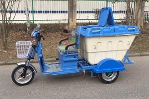 电动三轮保洁车左侧图片