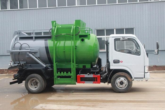 东风D6国六餐(余)厨垃圾车图片