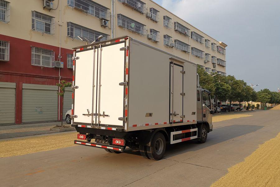 福田欧马可S3排半3.7米冷藏车价格 图片