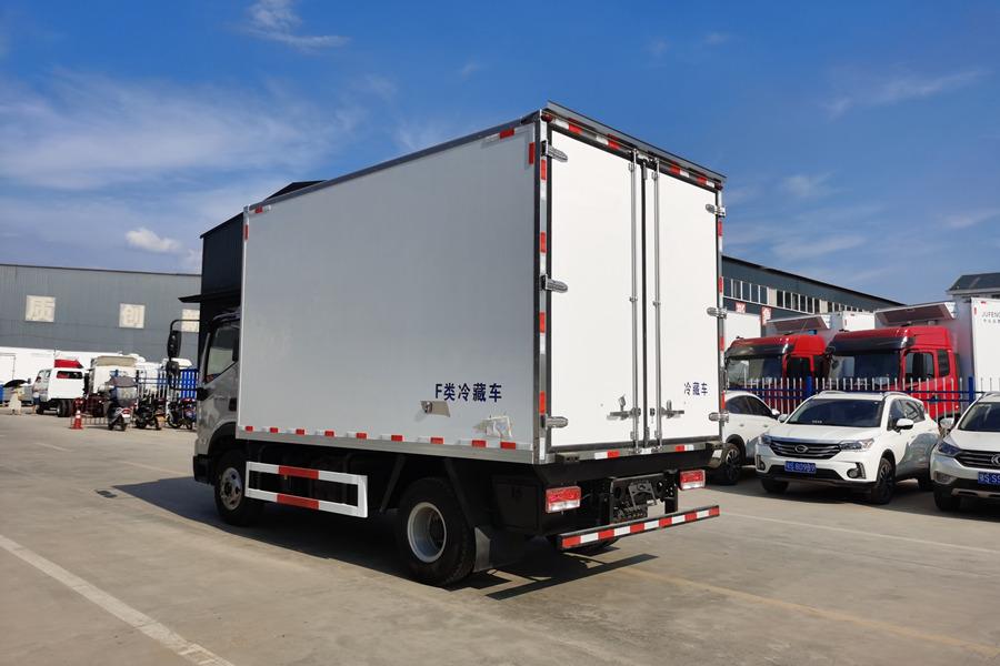 福田领航蓝牌4.2米冷藏车价格|图片