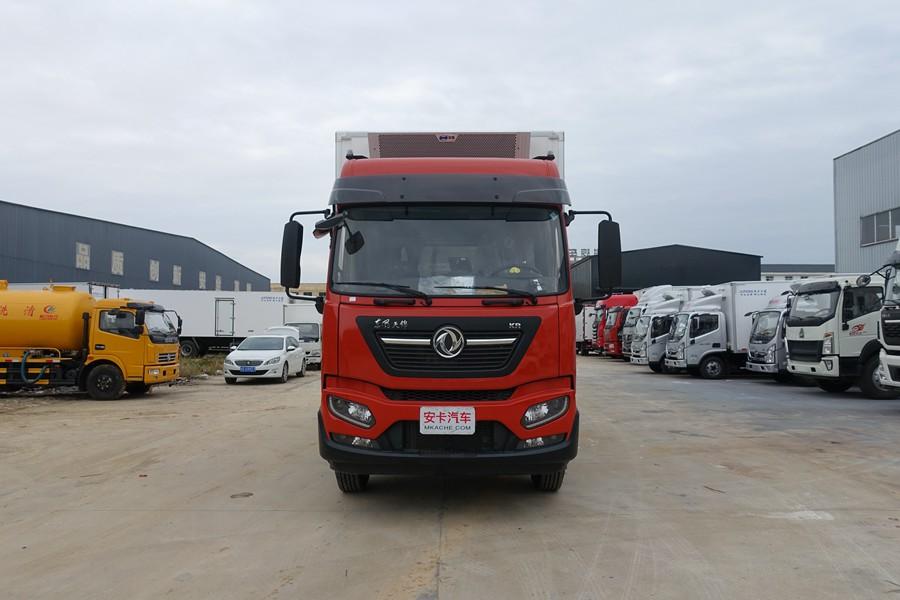 230/245马力东风天锦新款KR6.8米高顶冷藏车价格|厂家