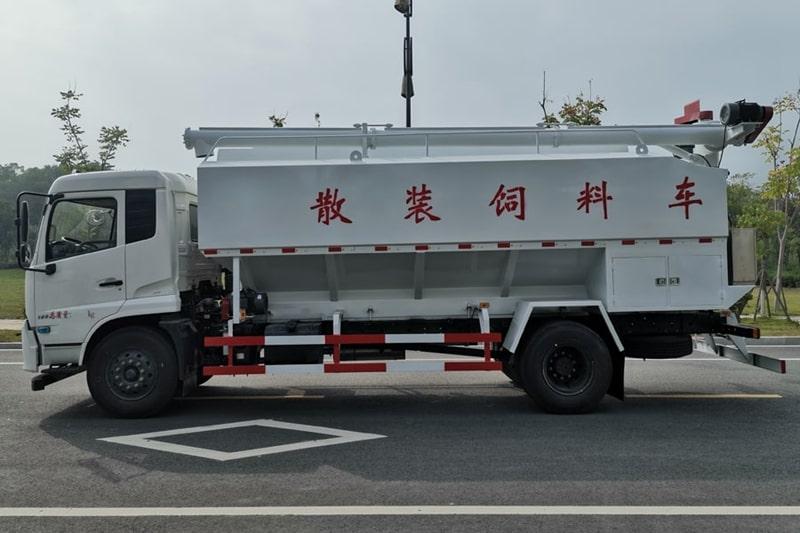 东风10吨散装饲料车图2
