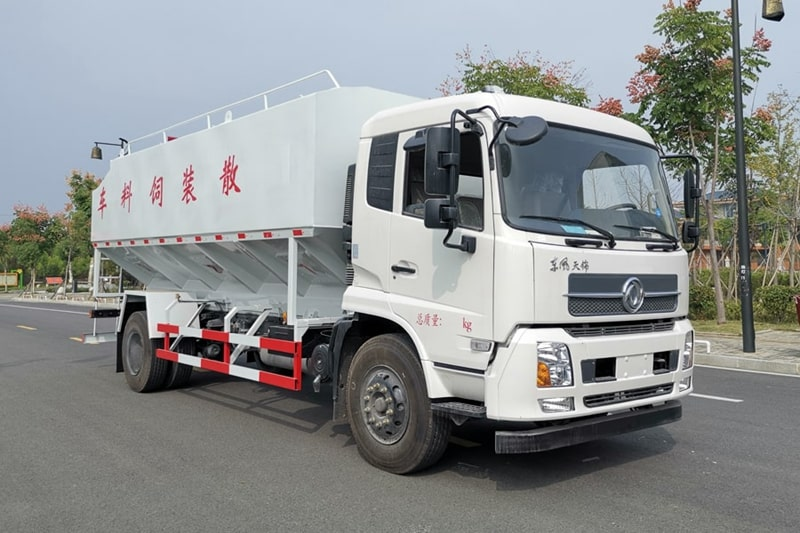 东风10吨散装饲料车图5