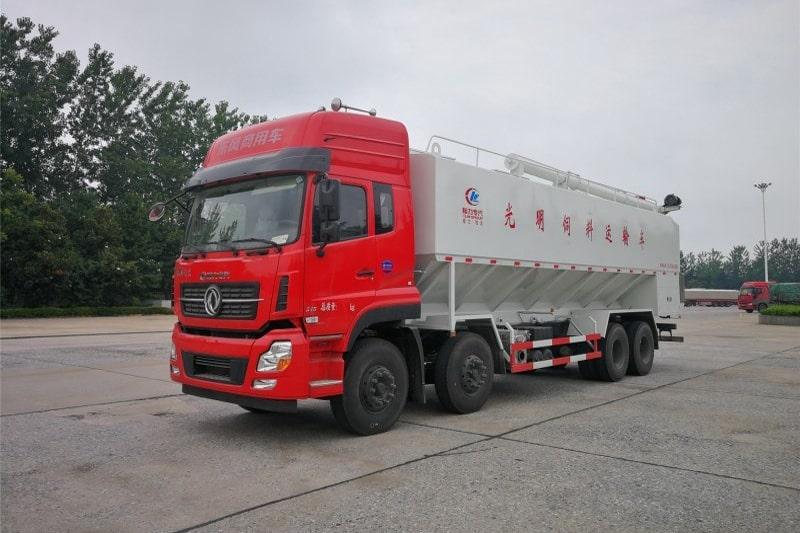 东风20吨散装饲料车图1