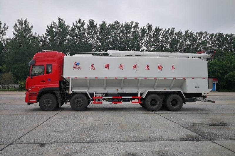 东风20吨散装饲料车图2
