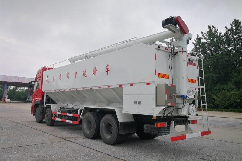 东风20吨散装饲料车图3