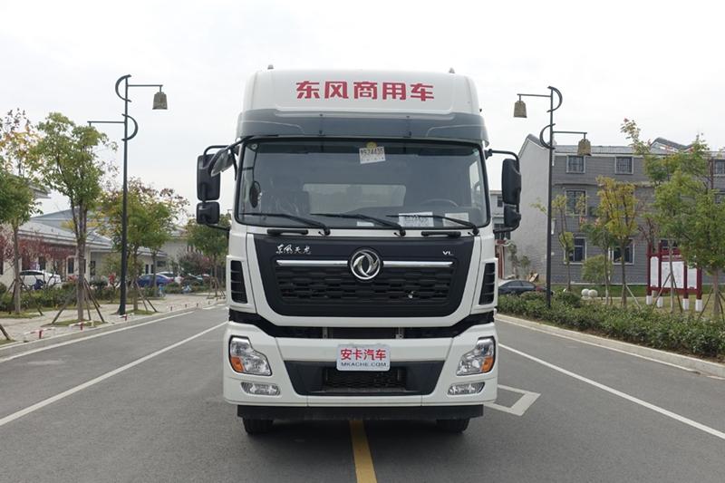 东风天龙20吨散装饲料车(1)