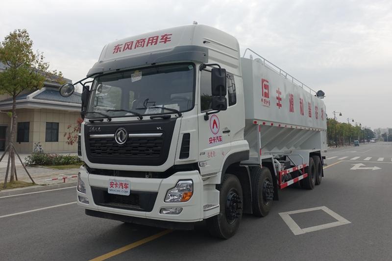 东风天龙20吨散装饲料车(2)