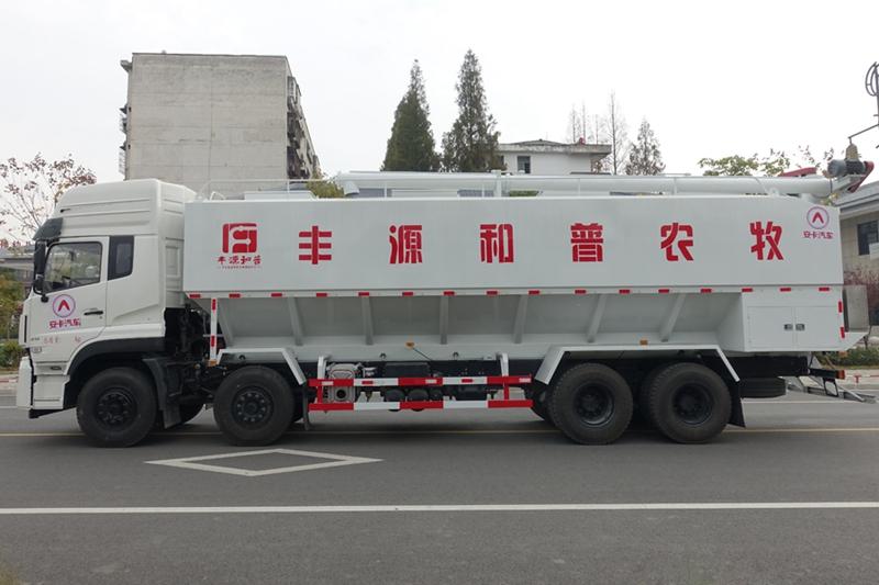 东风天龙20吨散装饲料车(3)